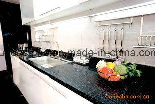 Sparkle Calacatta Quarz Slab for Kitchen Countertop