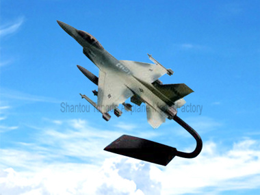 F-16 Camoufl Plastic Model Handwork Fighter Jet Model