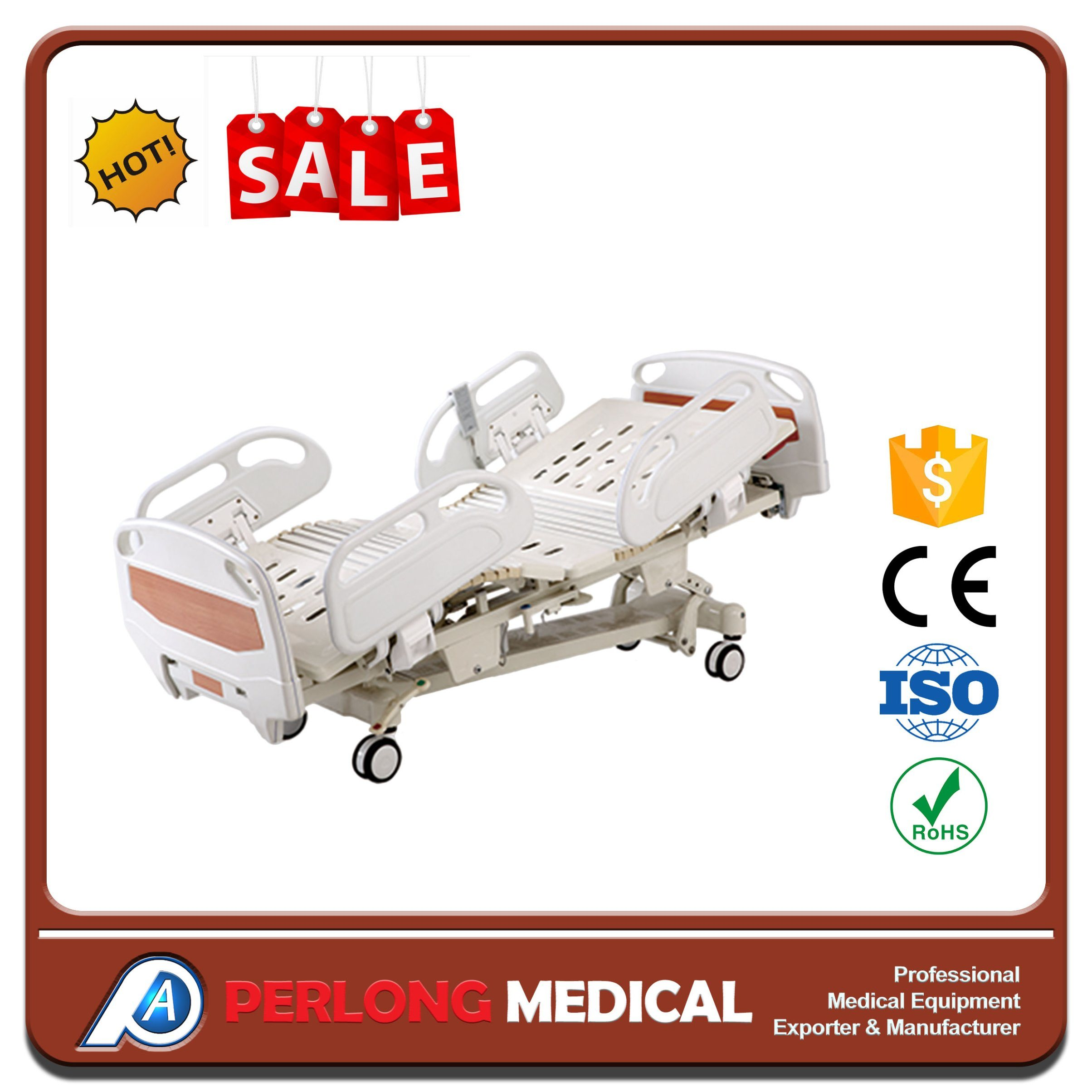 Medical Equipment Hospital Furniture Best Price Five-Function Electric Hospital Bed