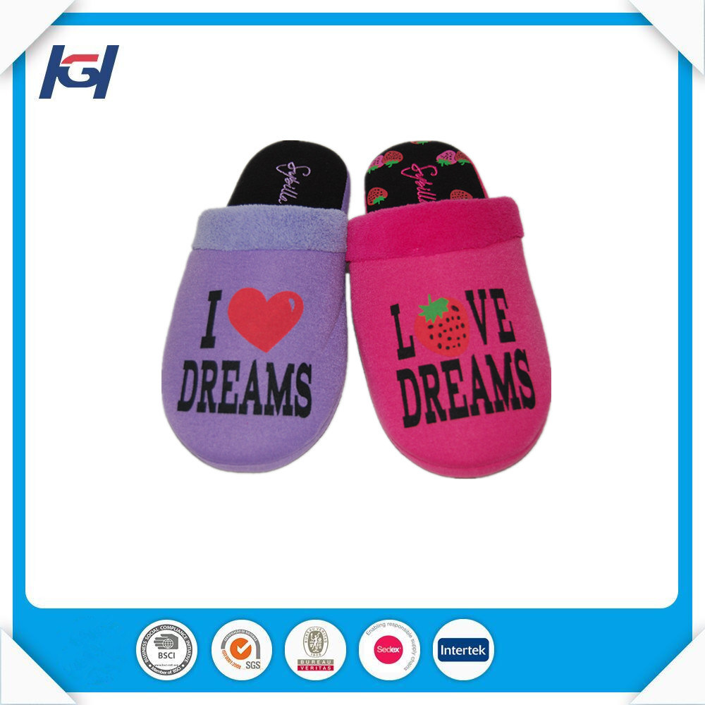 Latest Design Low Price Personalized House Slippers for Women