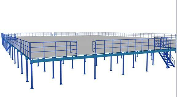 Prefabricated Steel House for Industrial Warehouse