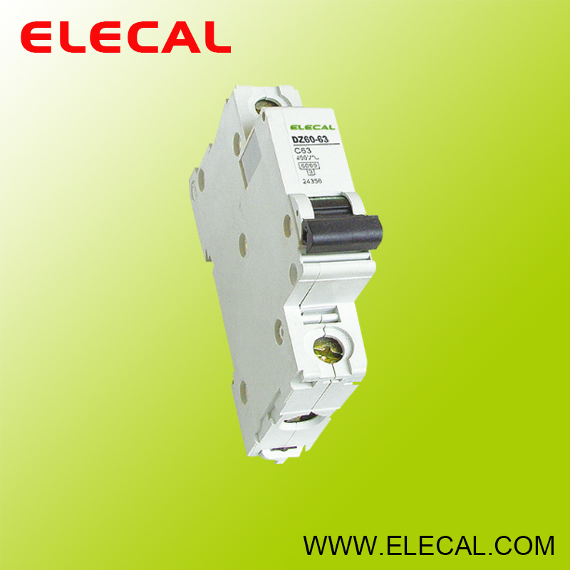 Dz60-63 Series Miniature Circuit Breaker