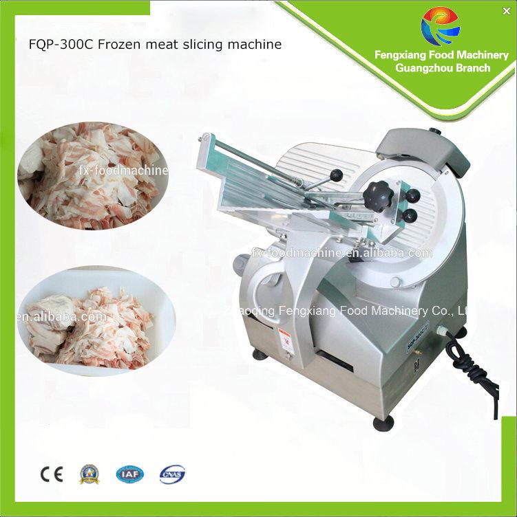 Fqp-300c Stainless Steel Frozen Meat Slicing Machine, Pork Cutter, Frozen Food Processor