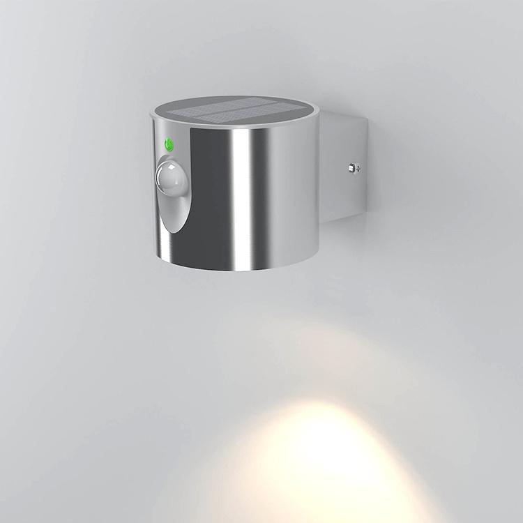 Solar Ss LED Garden Wall Light