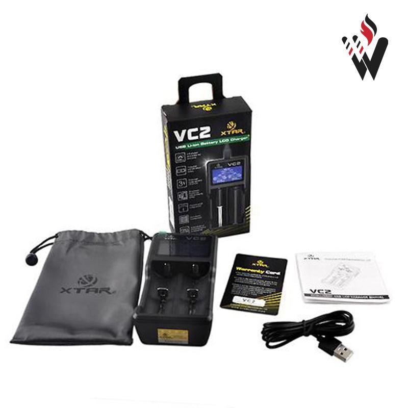 E Cig Xtar Vc2 Plus Master 18650 Charger