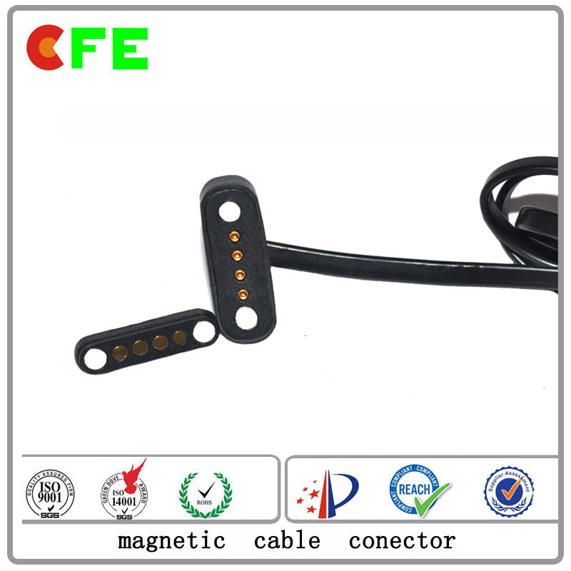 China Customized 2pin Waterproof Magnetic Power Connector