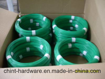 PVC Coated Iron Wire Coil/ PVC Coating Binding Wire