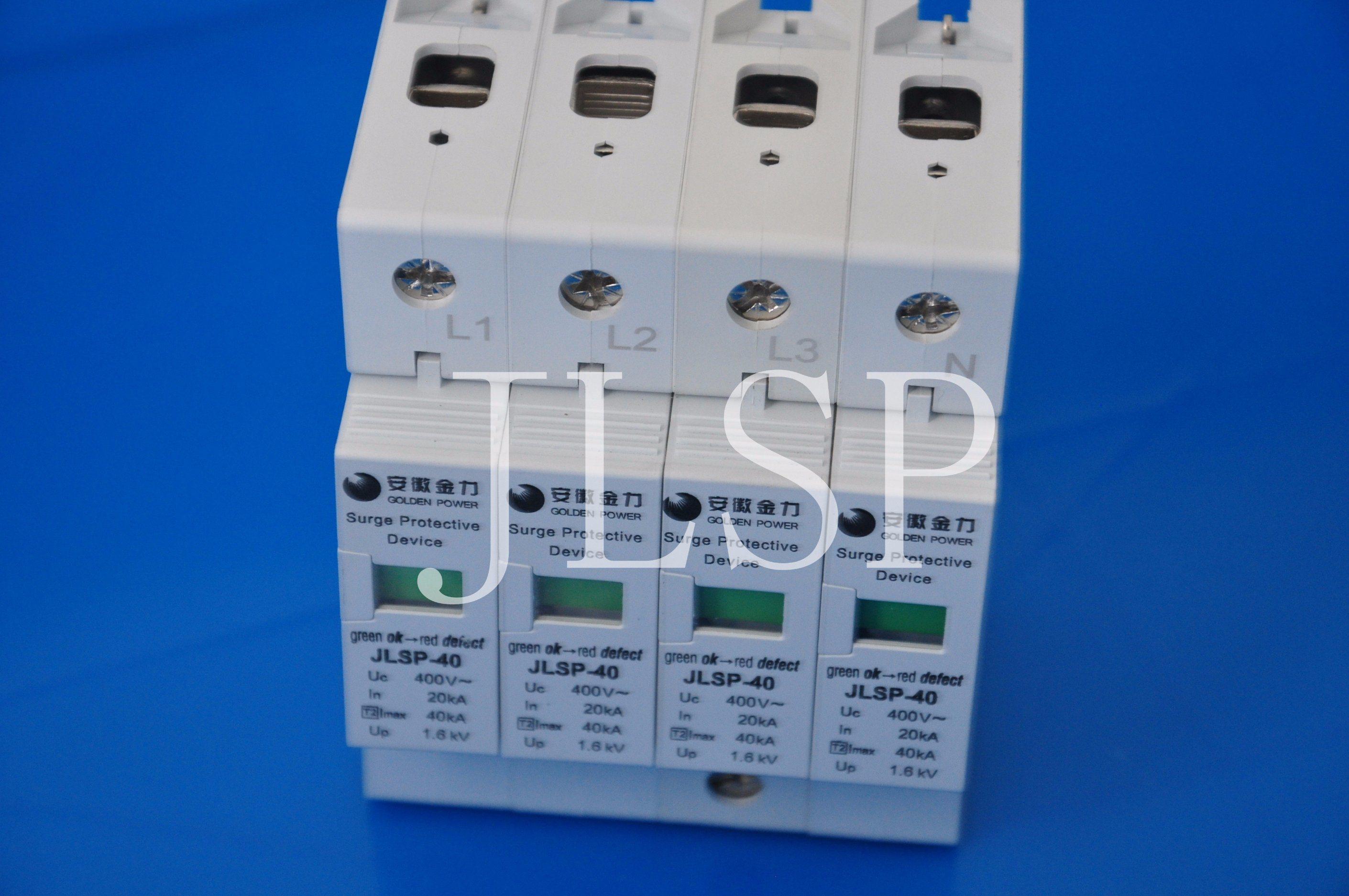 Surge Protective Device 20ka 230/400V, Jlsp-400-40, SPD, 17022