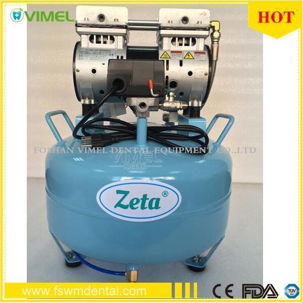 30L Dental Silent Air Compressor Oilless 130L/Min 52dB (A) 550W