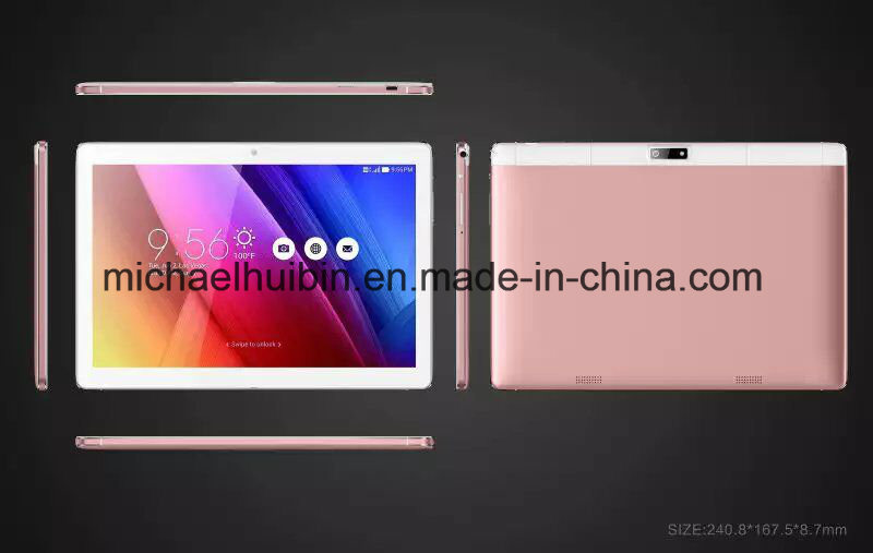 10.1inch IPS Multi-Touch Screen Android Quad-Core 3G Phone Tablets (MID1004B)