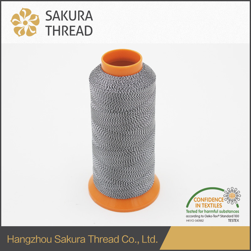 Customized Multicolored Polyester Thread with Oeko-Tex100 1 Class