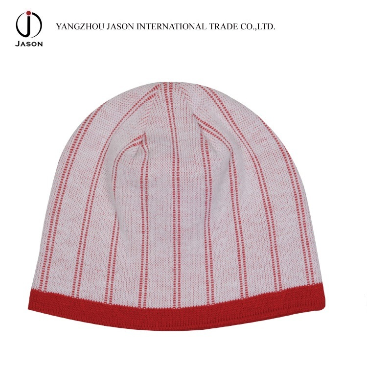 Winter Jacquard Hat Winter Warm Hat Acrylic Jacquard Knitted Beanie Jacquard Knitted Toque Hat