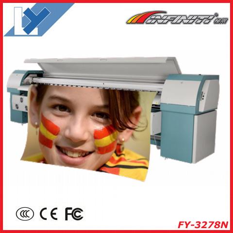 Infiniti Challenger Fy-3278n Large Format Printer 3.2m Heavy Duty Vinyl Printing Machine with Seiko 510/50pl Printhead