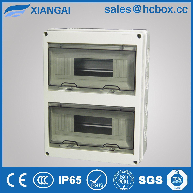 Waterproof Box Outdoor Cabinet Outdoor Distribution Box IP65 Hc-Ht 24ways