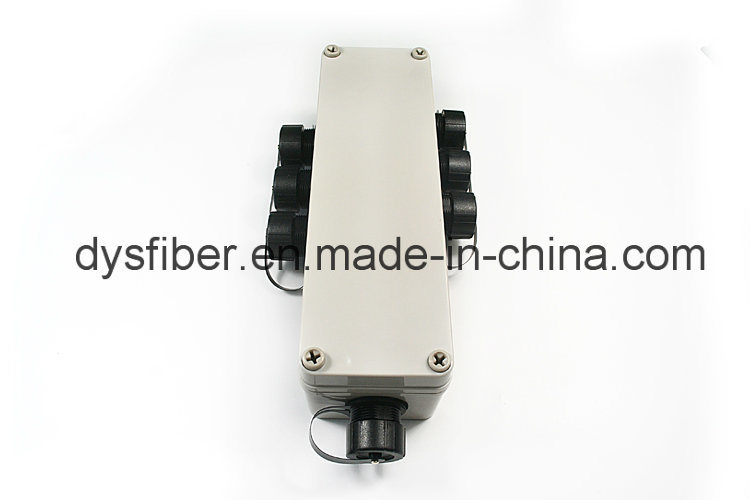 Ftta Armored Waterproof Patch Cord with Multi Port (MTP/MPO/LC/SC) Odva Terminal Junction Box