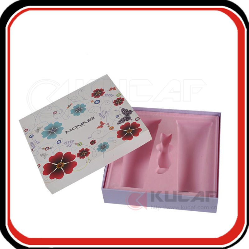 Factory Custom Make Plastic Tray Cosmetic Box Packaging