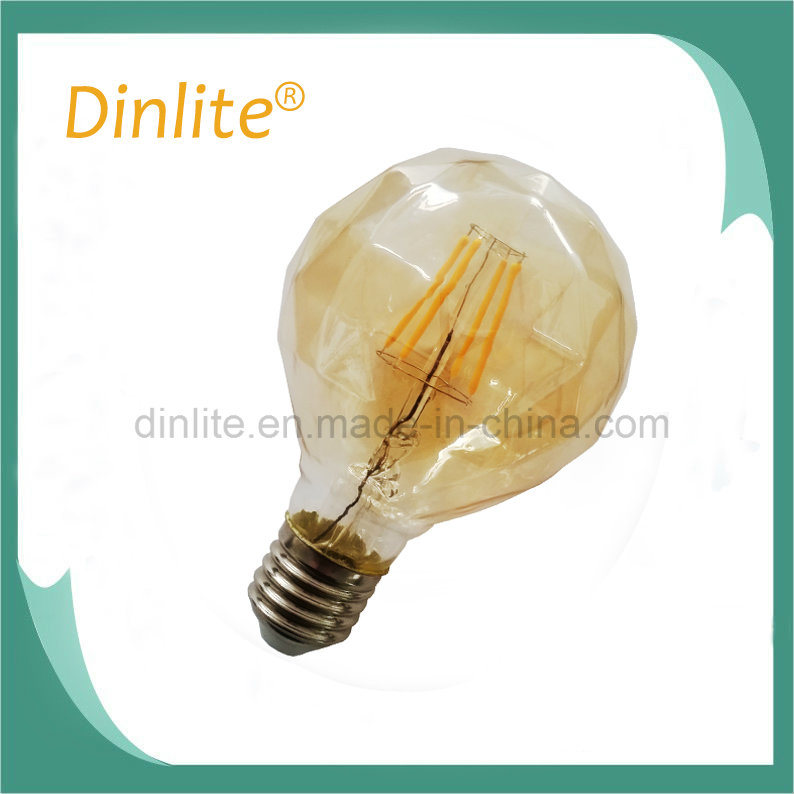 DIY new pattern 6500K dimmable 80mm LED lamp filament