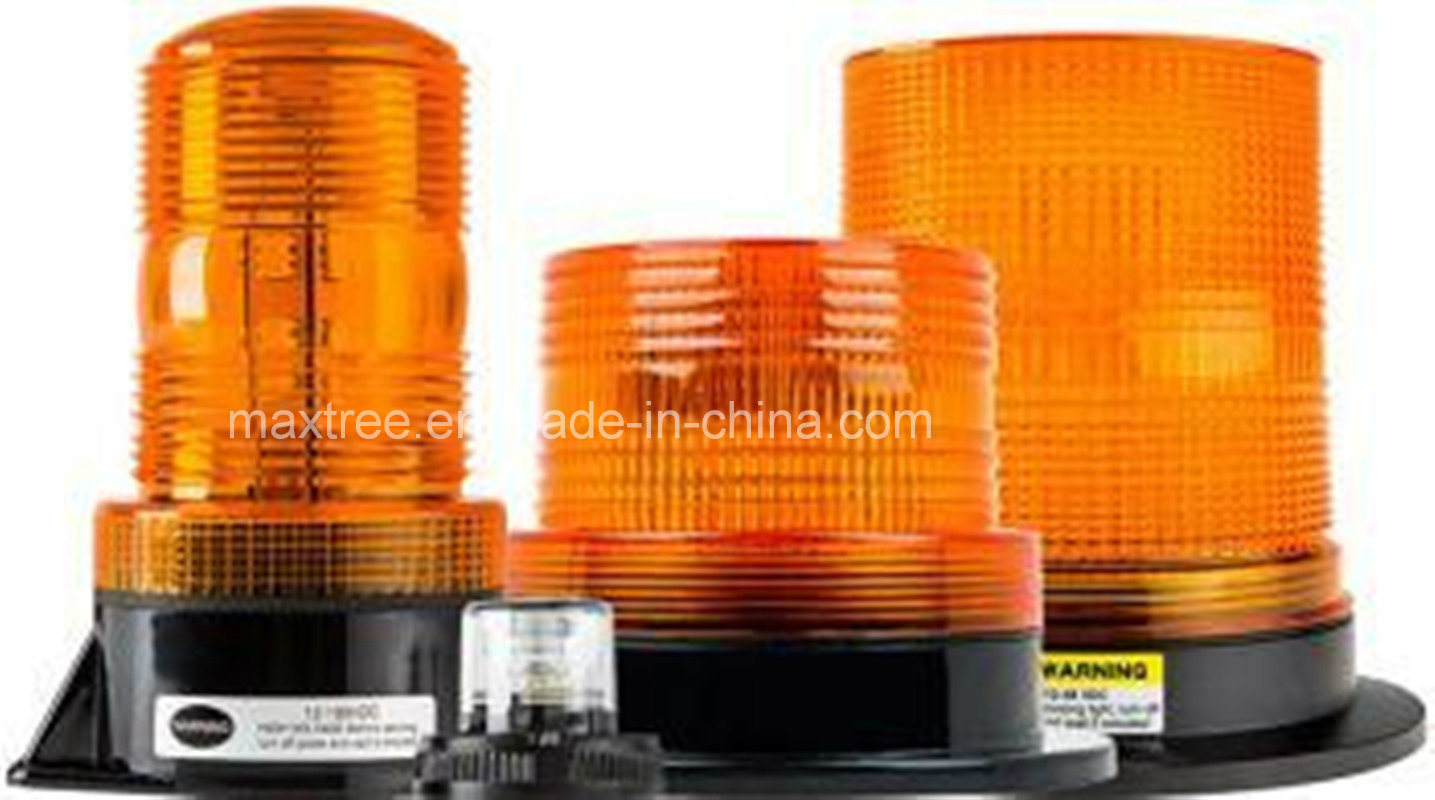 10- 110V Low Profile LED Beacon Strobe Light for Forklift
