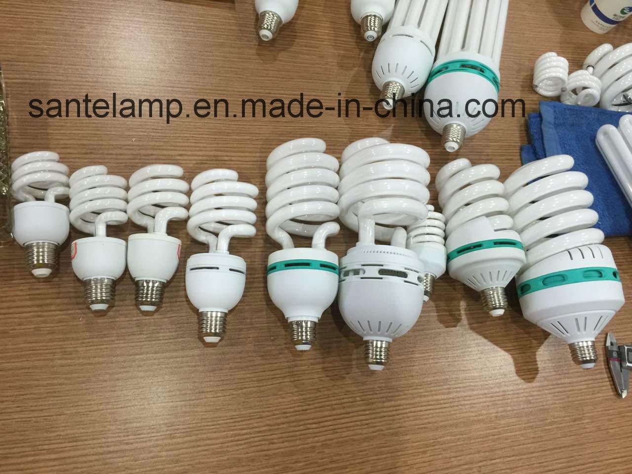 Energy Saving Lamp 24W 40W Half Spiral Halogen/Mixed/Tri-Color 2700k-7500k E27/B22 220-240V