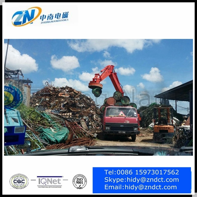 Excavator Lifting Magnet for Steel Scraps