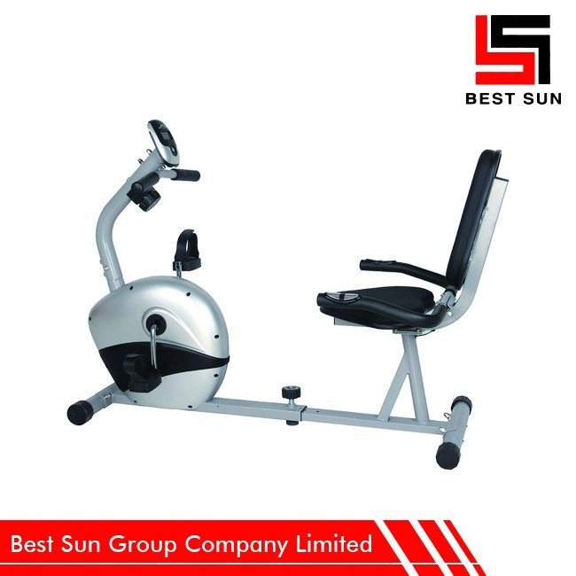 Keep Fit Stationary Cycling Recumbent Exercise Bike