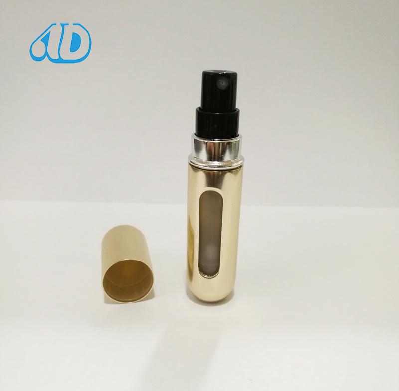 L8 Aluminium Spray Perfume Color Vial Bottle