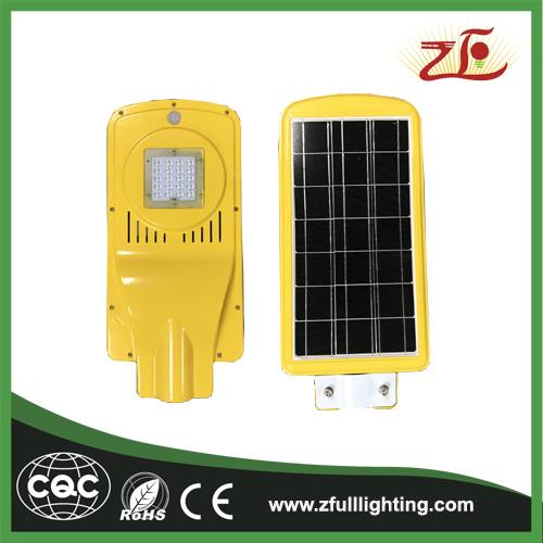 20W Factory Sales New Design Solar Powered Energy LED Street Light