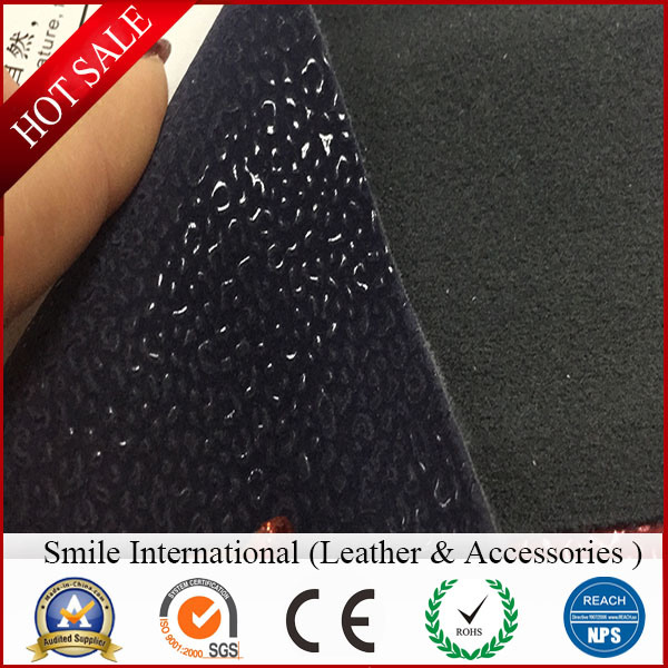 PU with Flocking Artificial Leather