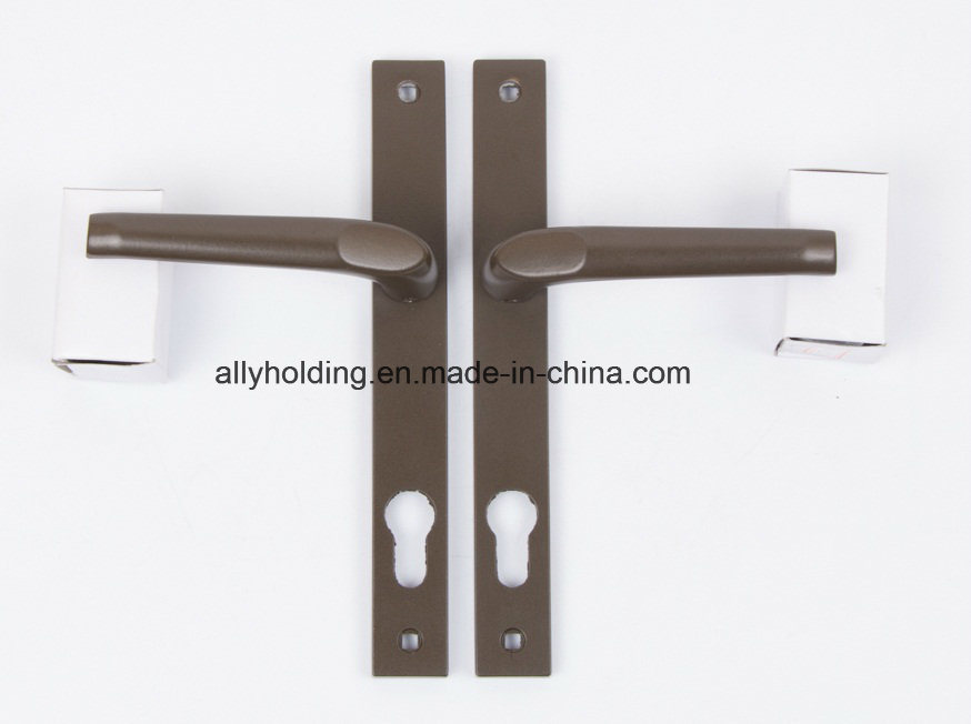 Spring Aluminum Door Handle Hl-52