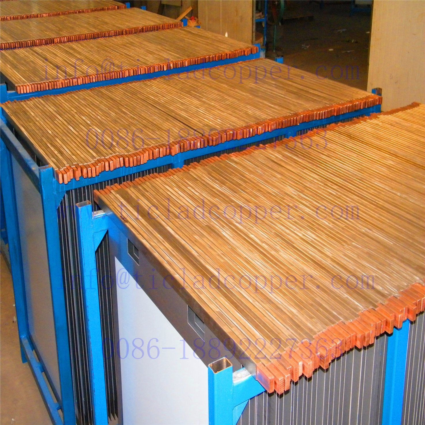 Gr1 Titanium Cathode Plate for Copper Foil Production / Electrowinning