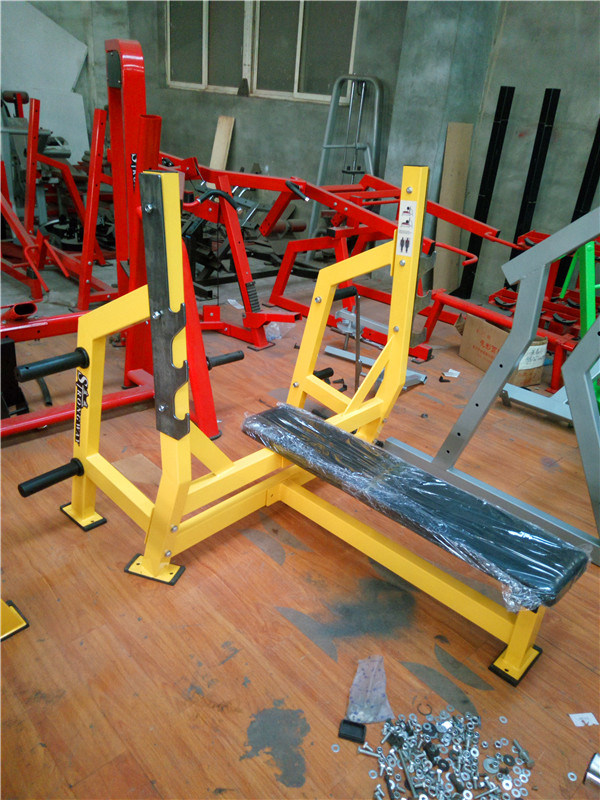 Fitness Equipment / Hammer Strength Olympic Flat Bench (SH38)