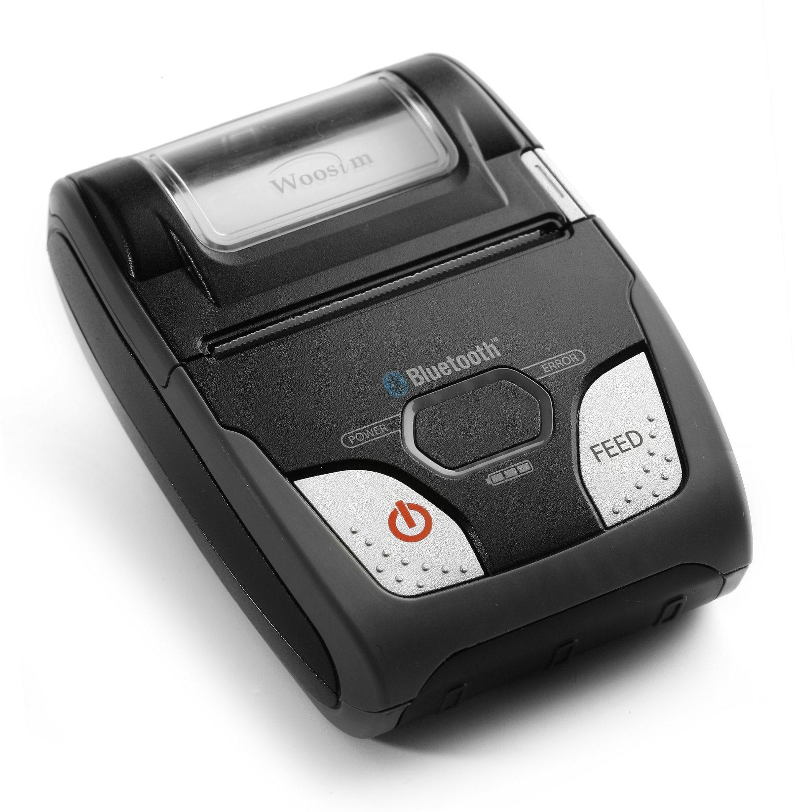 Woosim Wsp-R240 58mm Ios Mini Mobile Bluetooth Thermal Receipt Printer