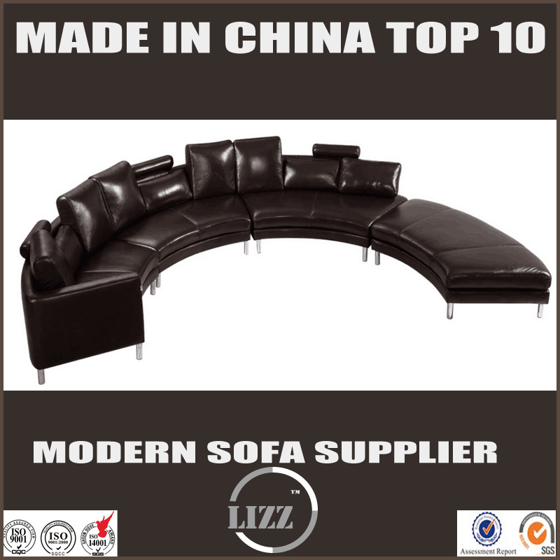 Modern Style Semi-Circular Sofa (LZ-189)
