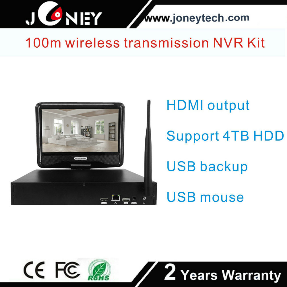 Wholesale Network Video Recorders 4 Channel CCTV IP Camera NVR Kit WiFi Wireless Camera