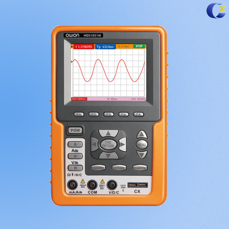 OWON 100MHz Dual-Channel Handheld Digital Multimeter & Oscilloscope