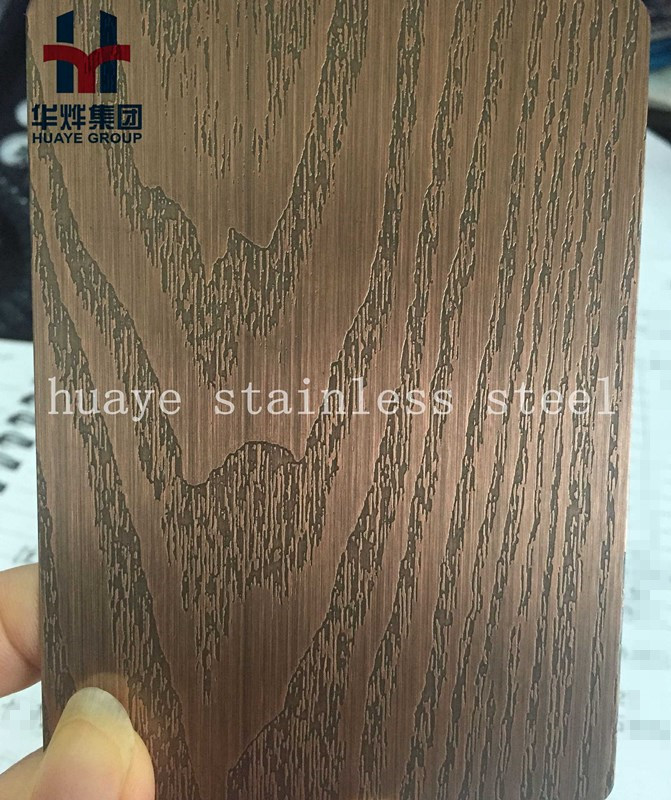 Etching Stainless Steel for Door Wall Building Decoration