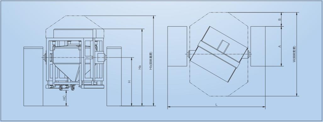 Hzd-1200 Automatic Lifting Bin Mixer /Mixing Equipment/ Mixing Machine
