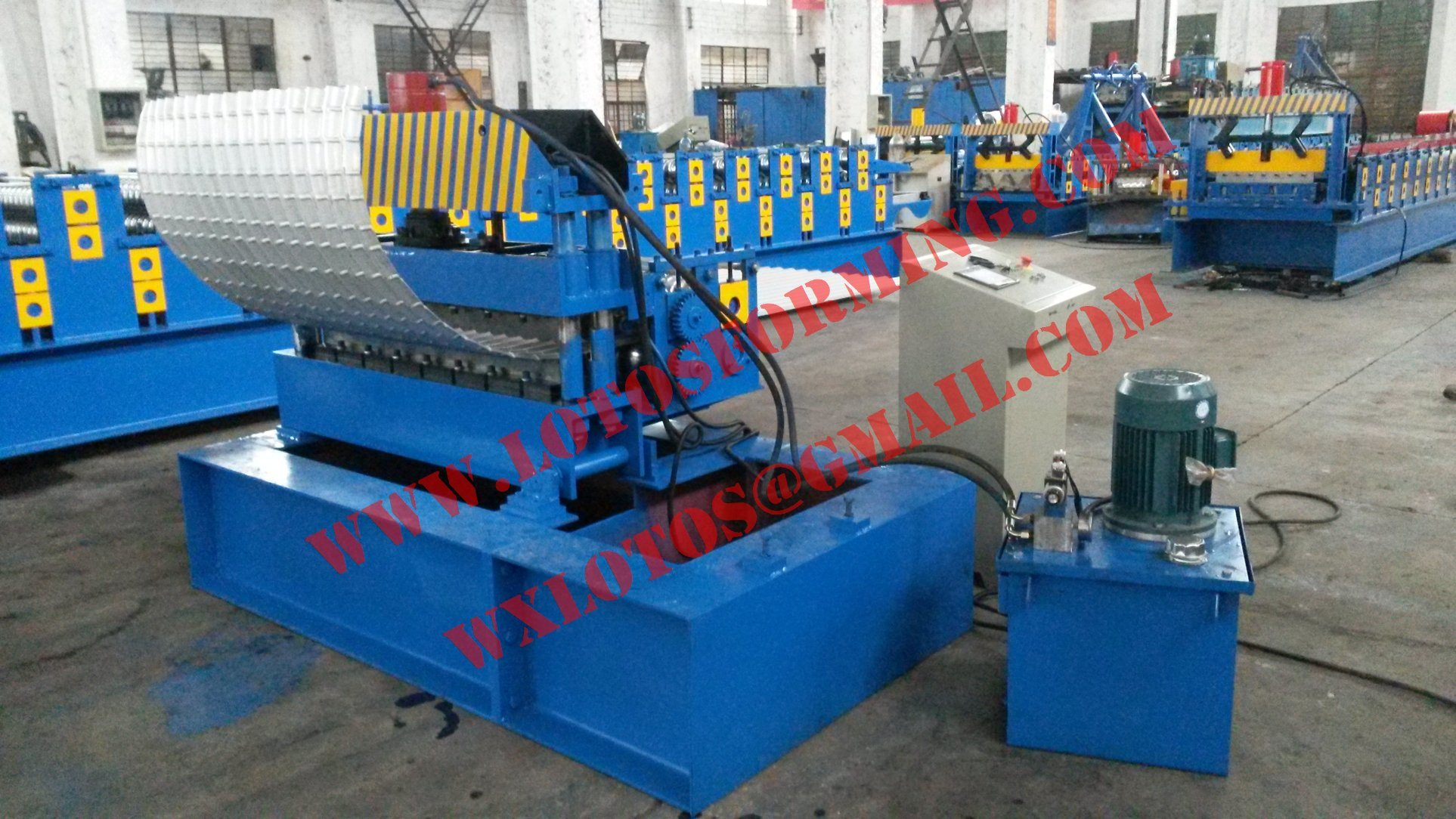 Panel Crimping Machine