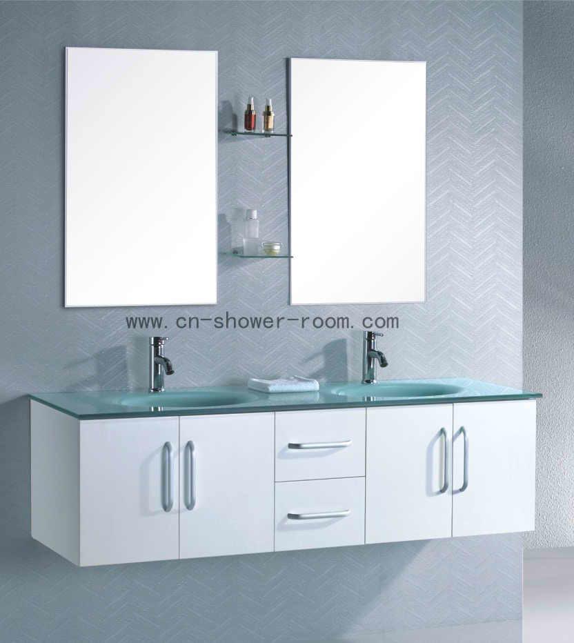 China Double Sink Bathroom Vanity C8580 China Bathroom Vanity Bathroom Cabinet