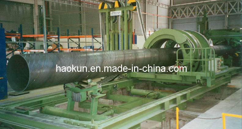 Spiral Pipe Making Machine SSAW Machine-Pipe Plasma Cuttimg