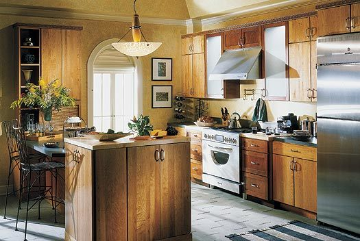 American Kitchen Cabinet RD 0002 China Solid Wood Kitchen Cabinet