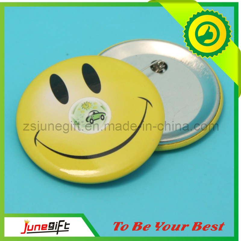 Custom Fashiontin Badge/Button Badge for Gifts (JN-0126)