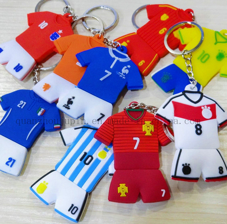 OEM PVC Rubber Key Chain for Promotion Gift and Souvenir