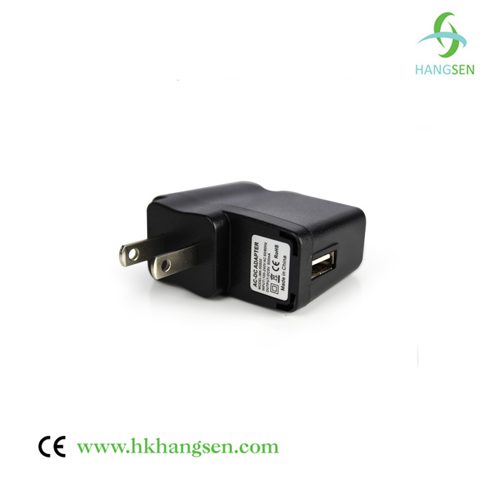 USB to Wall Adapter with Us EU UK Plug Available