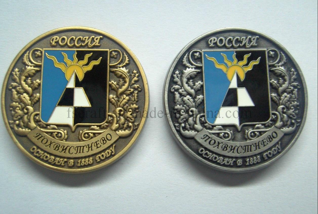 Imitation Hard Ename 3D Challenge Coin