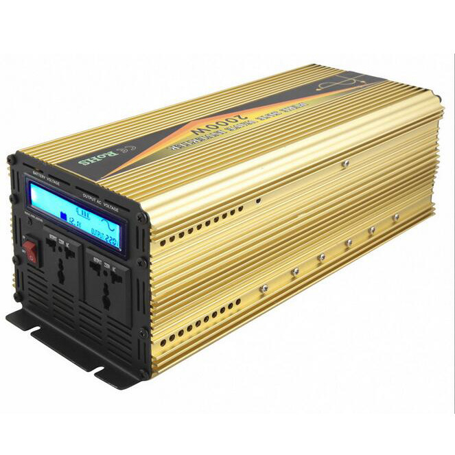 2000W DC12V/24V AC220V/110 Pure Sine Wave Power Inverter with UPS Charger