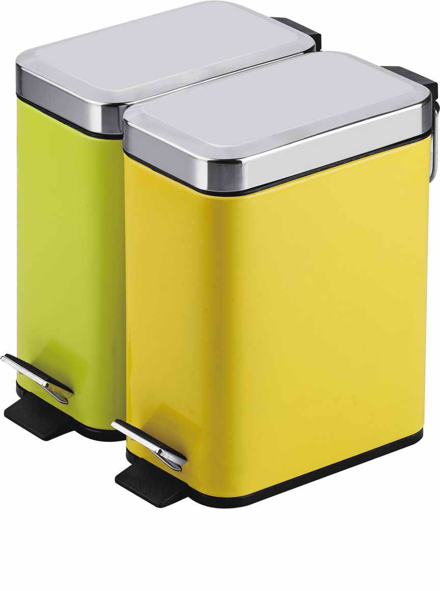 China step trash can rectangular stainless steel china trash can garbage can - Rectangular garbage cans ...