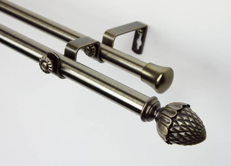 ikea double curtain rods images