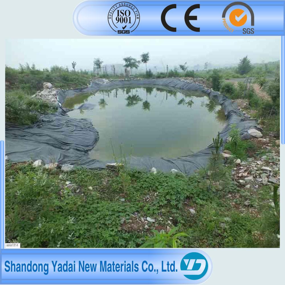 40/60/80 Mils HDPE Fish Farm Pond Liner/HDPE Impermeable Geomembrane