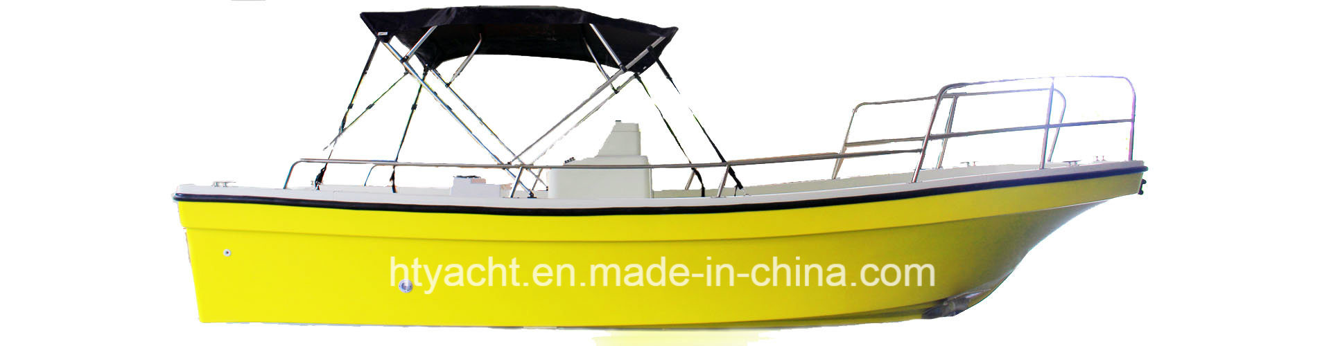 6.88m Fiberglass Fishing Boat Hangtong Factory-Direct